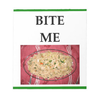 fried rice notepad