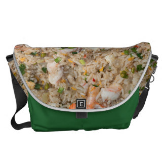 Fried Rice with Shrimp Courier Bag