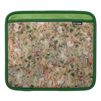 Fried Rice with Shrimp iPad Sleeve