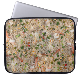 Fried Rice with Shrimp Laptop Sleeve