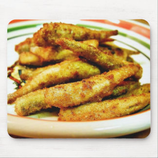 Fried Smelt Food Dinner Cooked Mouse Pads