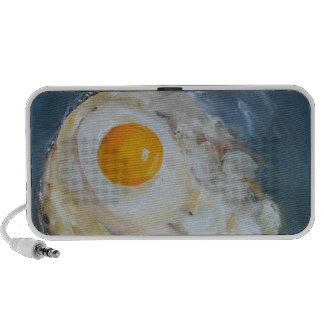 Fried Sunny-Side-Up Egg Speaker System