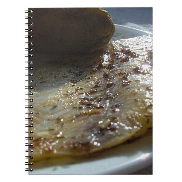 Fried Tilapia Blank Book