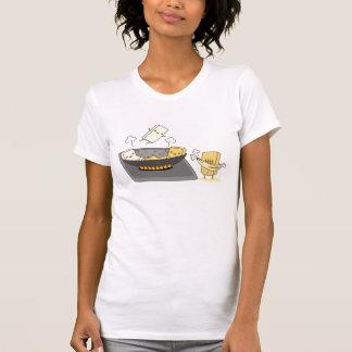 Fried Tofu Ladie's T-Shirt