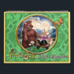 "Frieda Tails 2018 calendar<br><div class=""desc"">Bring Frieda&#39;s adventures into 2018 with this beautiful calendar featuring artwork from Frieda Tails Volume 2!</div>"