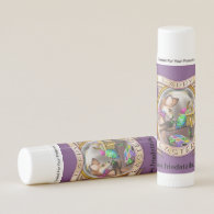Frieda Tails Easter lip balm