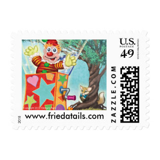 Frieda Tails stamps - Jack the Fox