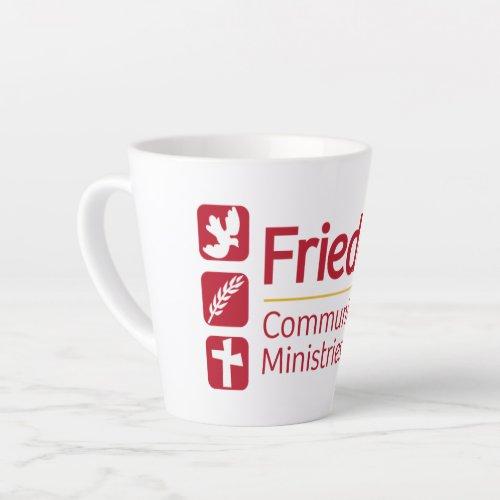 Friedens Latte Mug