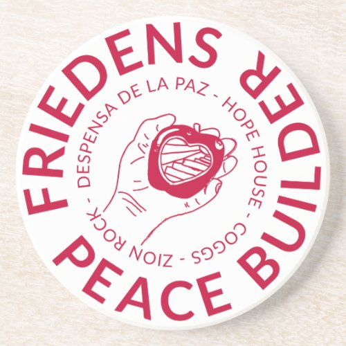 Friedens Peace Builder Coaster