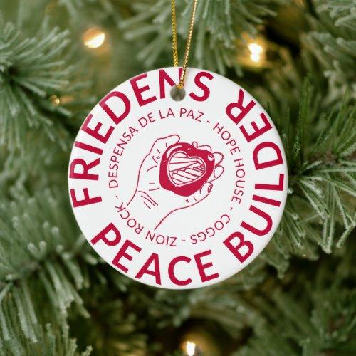 Friedens Peace Builder Ornament