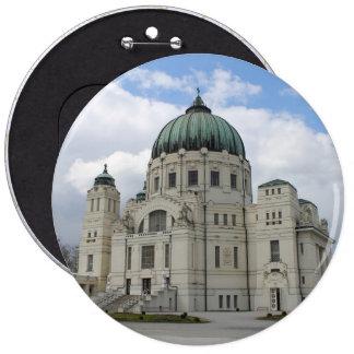 Friedhofskirche Zum Heiligen Karl Borromäus 6 Inch Round Button