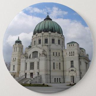 Friedhofskirche Zum Heiligen Karl Borromäus Pinback Button