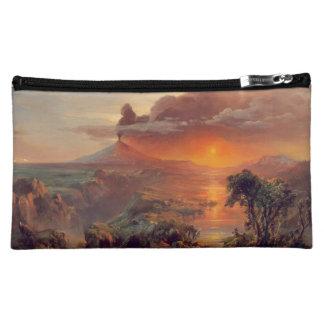 Friedrich Church Landscape painting Cosmetic Bag