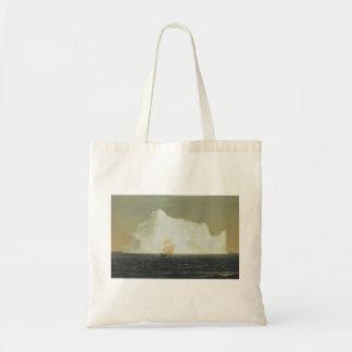 Friedrich Church Landscape painting Tote Bag