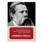 Friedrich Engels Anti-Valentine's Day Card