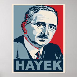 Friedrich Hayek Póster