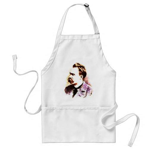 Friedrich Nietzsche Adult Apron
