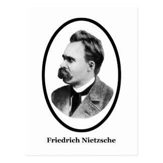 Friedrich Nietzsche  Black The MUSEUM Zazzle Gifts Postcard