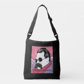 """""""Friedrich Nietzsche"""" Cross Body Bag"""