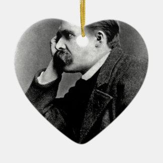 Friedrich Nietzsche -dd6 Ceramic Ornament