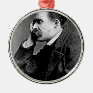 Friedrich Nietzsche -dd6 Metal Ornament