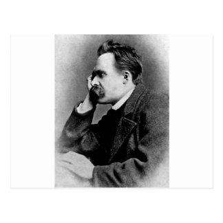 Friedrich Nietzsche - dd6 Tarjeta Postal
