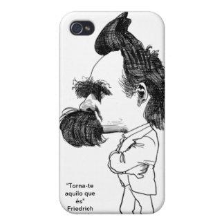 Friedrich Nietzsche iPhone 4/4S Carcasa