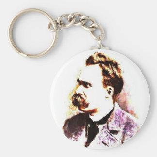 Friedrich Nietzsche Key Chain