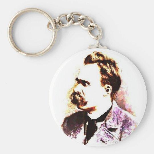 Friedrich Nietzsche Keychain