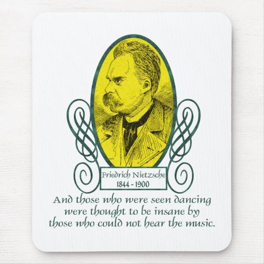 Friedrich Nietzsche Mouse Pad