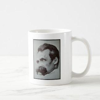 Friedrich Nietzsche Classic White Coffee Mug