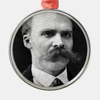 Friedrich Nietzsche original b&w photo Metal Ornament