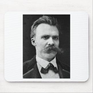Friedrich Nietzsche original b&w photo Mouse Pad