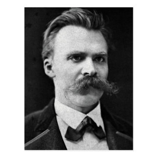 Friedrich Nietzsche original b&w photo Postcard