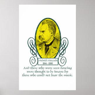 Friedrich Nietzsche Poster