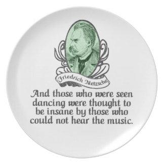 Friedrich Nietzsche Party Plates