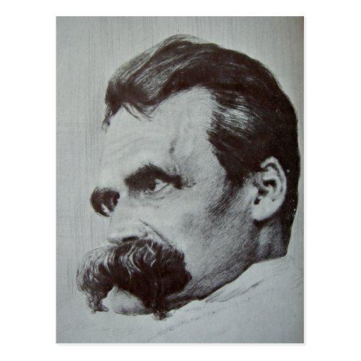 Friedrich Nietzsche Postales