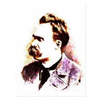 Friedrich Nietzsche Postcard