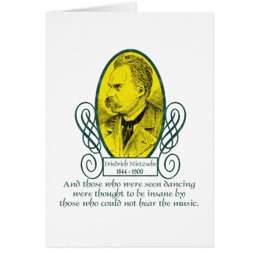 Friedrich Nietzsche Tarjetas