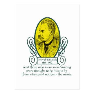 Friedrich Nietzsche Tarjetas Postales