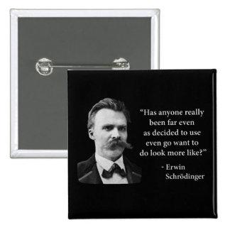 Friedrich Nietzsche Troll Quote Pinback Button