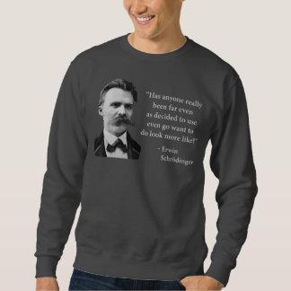 Friedrich Nietzsche Troll Quote Sweatshirt