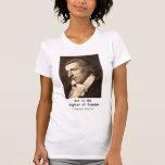 Friedrich Schiller: Art is the Daughter of Freedom Tee Shirt