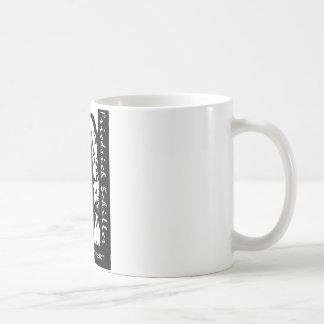 Friedrich Schiller: On the mountains is freedom Coffee Mug
