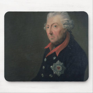 Friedrich the Great  Wearing the Uniform Mouse Pad