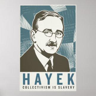 Friedrich von Hayek Vintage Print