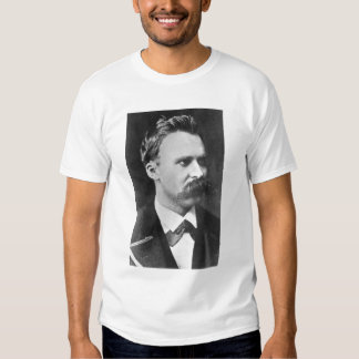 Friedrich Wilhelm Nietzsche (1844-1900) 1873 (b/w Camisas