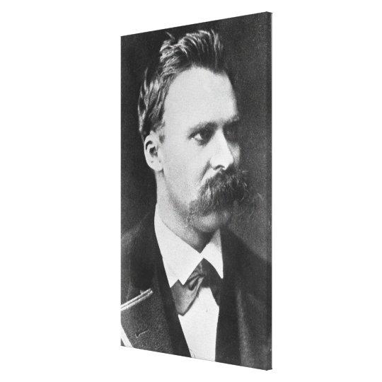 Friedrich Wilhelm Nietzsche (1844-1900) 1873 (b/w Canvas Print