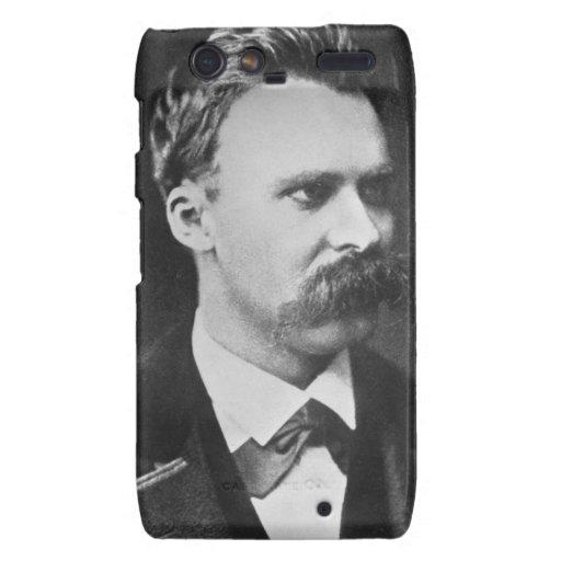 Friedrich Wilhelm Nietzsche (1844-1900) 1873 (b/w Carcasa Para Droid RAZR