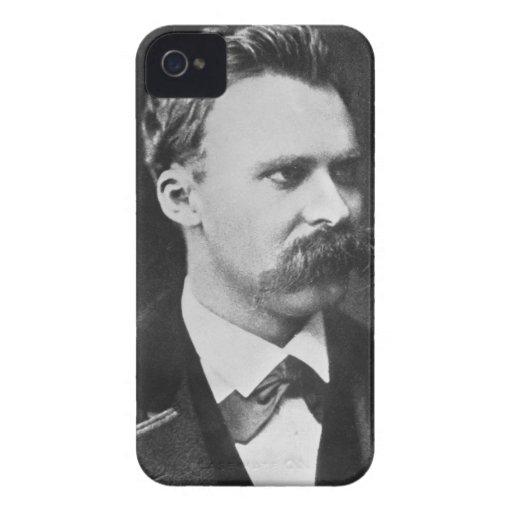 Friedrich Wilhelm Nietzsche (1844-1900) 1873 (b/w iPhone 4 Case-Mate Protector